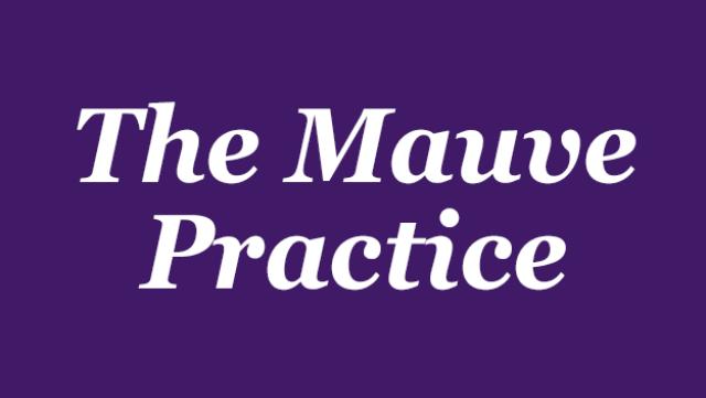 Mauve Practice logo