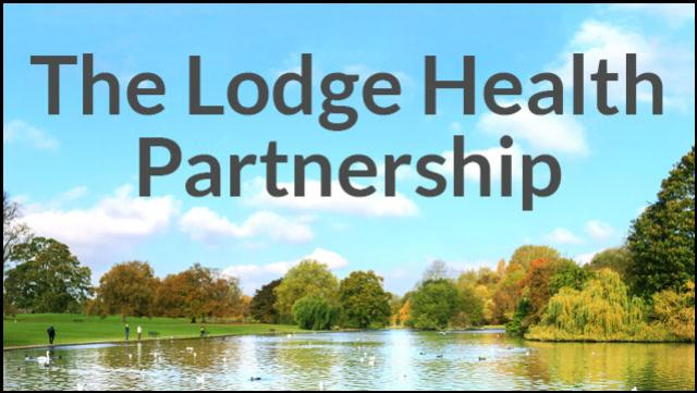 The Lodge Health Partnership logo