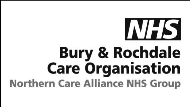 NHS Bury & Rochdale Care Organisation logo